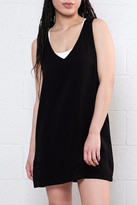 LIRA Black Flowy Sleeveless Dress