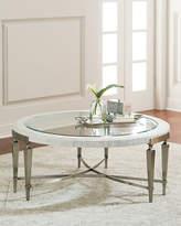 Bernhardt Damonica White Oak Round Coffee Table