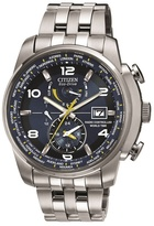 Citizen World Time Silver Watch At9010-52l