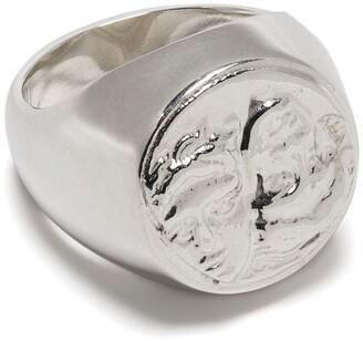 VICTORIA STRIGINI Istros silver signet ring