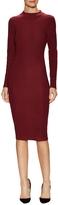 Rebecca Minkoff Women's Magri Ribbed Sheath Dress