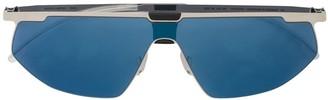 Mykita Paris shield sunglasses
