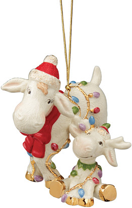 Lenox Marcie & Baby Moose Ornament