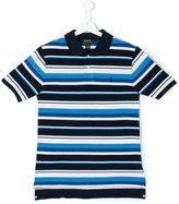 Ralph Lauren striped polo shirt - kids - Cotton - 14 yrs