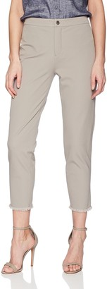 Lysse Women's Rae Stretch Twill Crop Pant