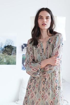 Velvet by Graham & Spencer Ariel Azteca Lurex Dress