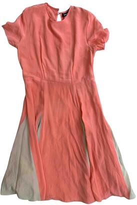 House of Holland Orange Silk Dress for Women