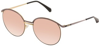 Balmain 55mm Round Metal Sunglasses