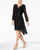 Thalia Sodi Lace-Up High-Low Dress, Only at Macy's
