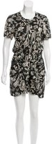 Isabel Marant Floral Silk Dress
