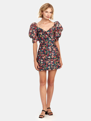 C/Meo And Ever More Short Balloon Sleeve Mini Dress