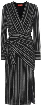 Altuzarra Sparks striped silk-blend dress