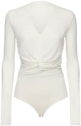 Agnona Viscose Blend Bodysuit