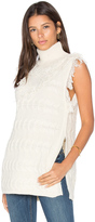 Fine Collection Daphne Sleeveless Sweater