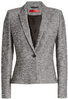 HUGO Textured Cotton Blazer