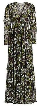 By Ti Mo byTiMo Women's Desirà ̈ Long-Sleeve Floral Maxi Dress