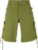 Moschino logo pocket cargo shorts