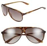 Carrera Men's Eyewear 61Mm Aviator Sunglasses - Havana/ Brown Gradient