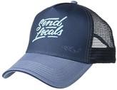 Prana La Viva Trucker Hat (Atlantic Camelia) Caps