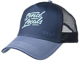 Prana La Viva Trucker Hat (Nickel Locals) Caps