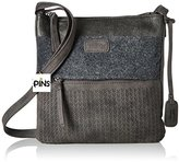 Rieker Nicht Angegeben, Women's Cross-Body Bag, Grau (Smoke/anthrazit), 70x250x250 cm (B x H T)