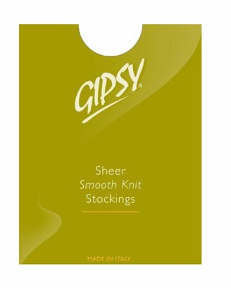 """Gipsy 1006 Smooth Knit stockings mink one size 5'0"""" - 5'8"""""""