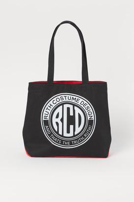 H&M Canvas Shopper - Black