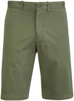 Edwin Rail Chino Shorts Khaki