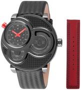 Men's Macchina Del Tempo Leather Strap Watch