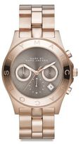 Marc by Marc Jacobs Blade Rose Goldtone Stainless Steel Chronograph Watch