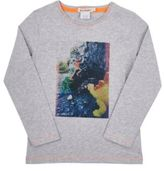 Billy Bandit Men's Photo-Real Graphic Long-Sleeve T-Shirt-GREY