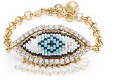 Shourouk Evil-eye bracelet
