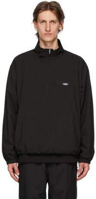 Chemist Creations Black Half-Zip Track Jacket