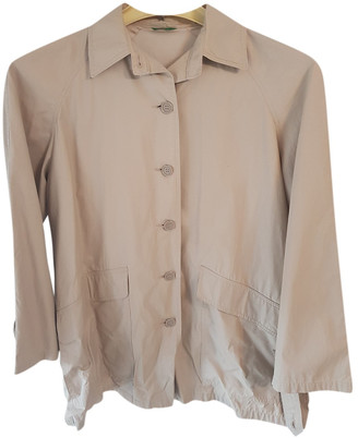 Benetton Beige Cotton Jackets