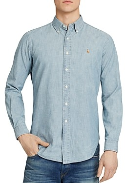 Polo Ralph Lauren Chambray Button-Down Shirt - Classic Fit