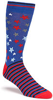 Daniel Cremieux Americana Stars Crew Dress Socks