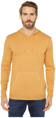 RVCA PTC Pigment Hoodie (Honey) Men's Sweatshirt