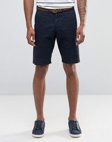 Celio Chino Short With Belt