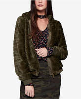 Sanctuary Faux-Fur Bomber Jacket