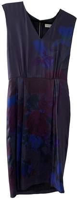Dries Van Noten \N Navy Silk Dresses