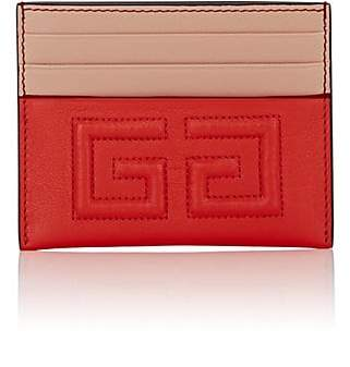 Givenchy Women's Emblem Leather Card Case
