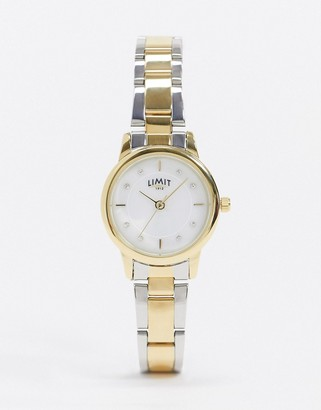 Limit bracelet watch in two tone
