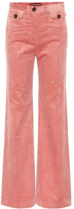 ALEXACHUNG Wide-leg corduroy pants