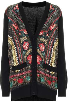 Etro Silk and wool-blend cardigan