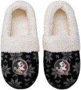 Unbranded Women's Florida State Seminoles Ugly Knit Moccasin Slippers