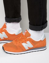 New Balance Modern Classic 373 Trainers In Orange Ml373ora