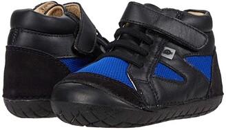 Old Soles Pave Squad (Infant/Toddler) (Black/Cobalt Mesh/Black) Boy's Shoes