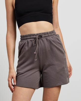 C&M CAMILLA AND MARC - Women's Grey High-Waisted - Josef High Waisted Shorts - Size 6 at The Iconic