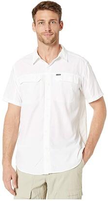 Columbia Silver Ridge 2.0 Short Sleeve Shirt (White) Men's Short Sleeve Button Up