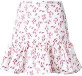 Dresscamp strawberry print peplum skirt